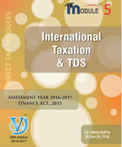 International Taxation & TDS (Module-V)