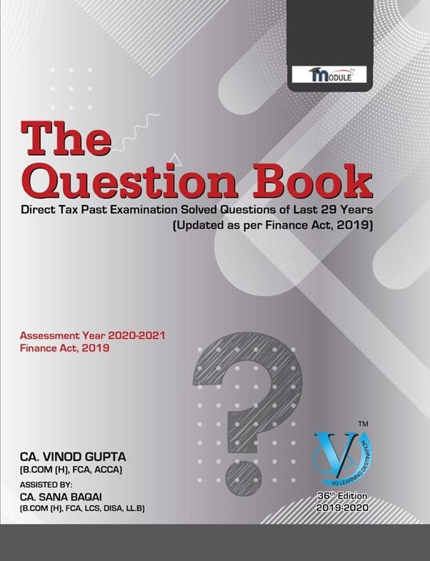 Direct Tax - Question Book - Part 1 & 2