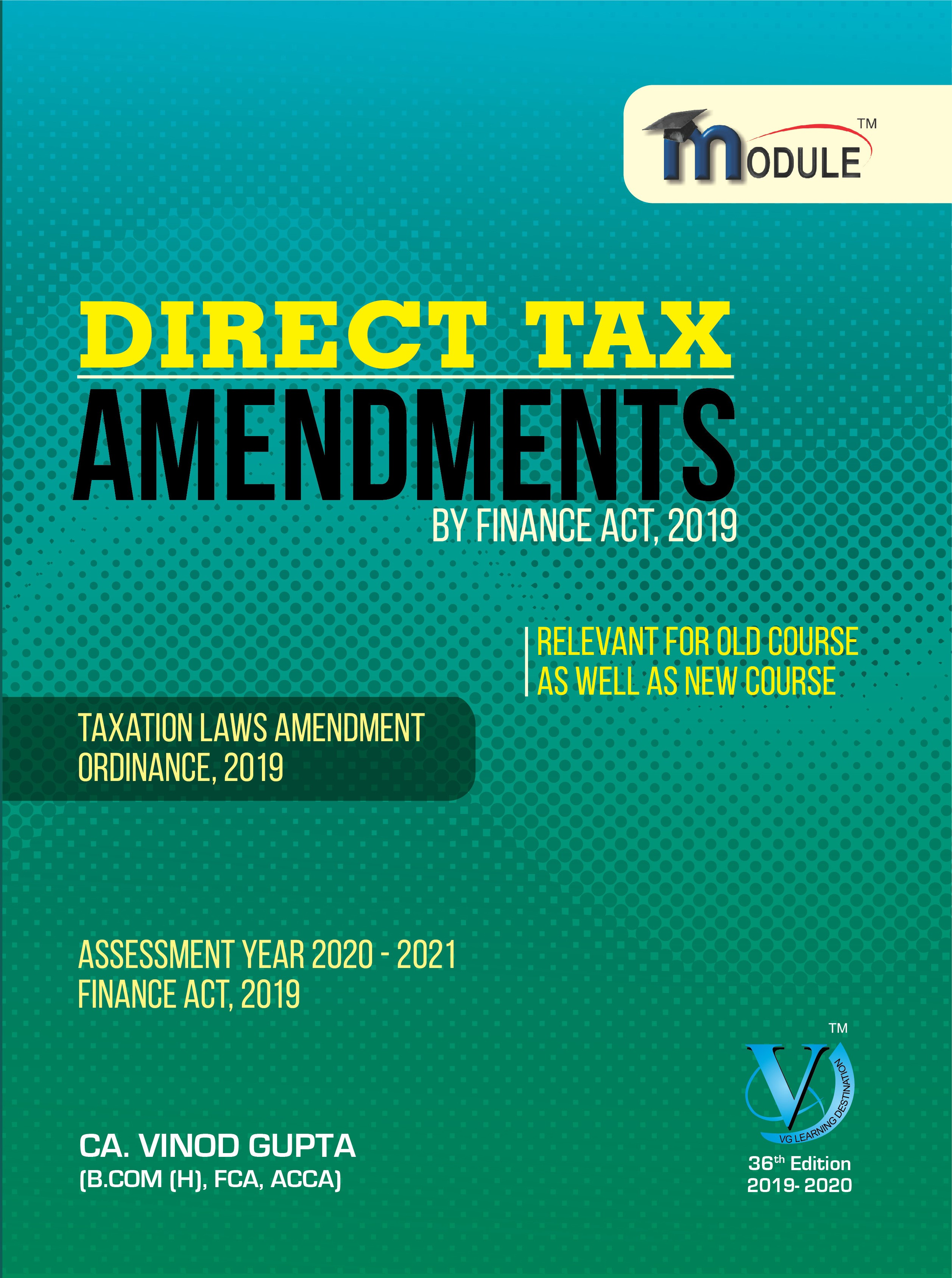 Direct Tax - Amendment